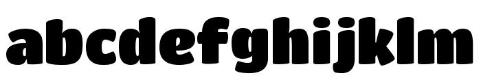 Titan One regular Font LOWERCASE