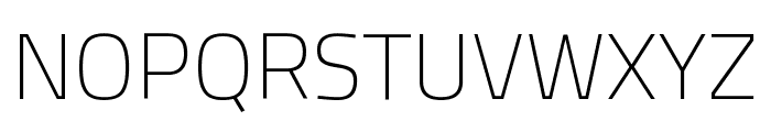 Titillium Web 200 Font UPPERCASE