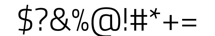 Titillium Web 300 Font OTHER CHARS