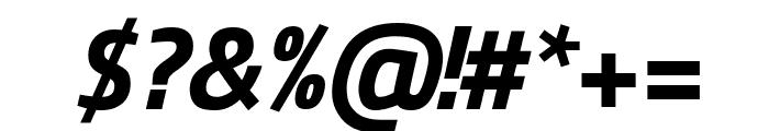 Titillium Web 700italic Font OTHER CHARS