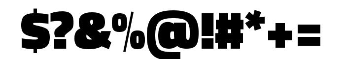 Titillium Web 900 Font OTHER CHARS
