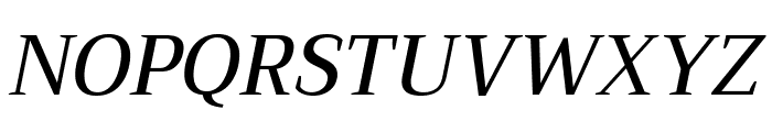 Trirong 500italic Font UPPERCASE