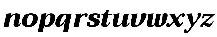 Trirong 900italic Font LOWERCASE