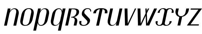 Trochut italic Font UPPERCASE