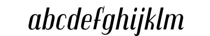 Trochut italic Font LOWERCASE