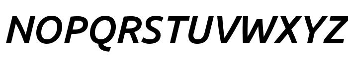 Ubuntu 500italic Font UPPERCASE