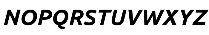 Ubuntu 700italic Font UPPERCASE