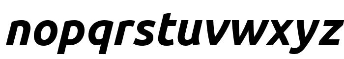 Ubuntu 700italic Font LOWERCASE