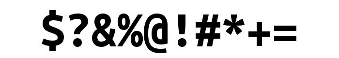 Ubuntu Mono 700 Font OTHER CHARS