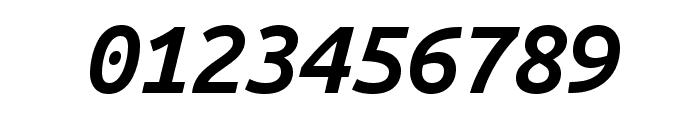 Ubuntu Mono 700italic Font OTHER CHARS