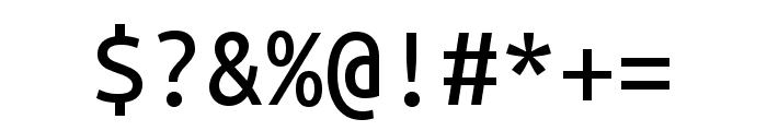 Ubuntu Mono regular Font OTHER CHARS