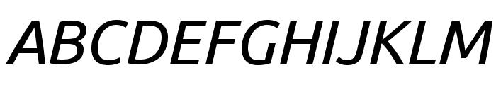 Ubuntu italic Font UPPERCASE