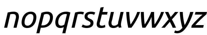 Ubuntu italic Font LOWERCASE