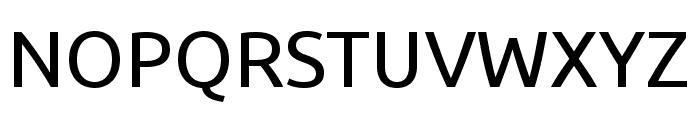 Ubuntu regular Font UPPERCASE