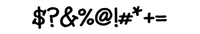 Unkempt 700 Font OTHER CHARS