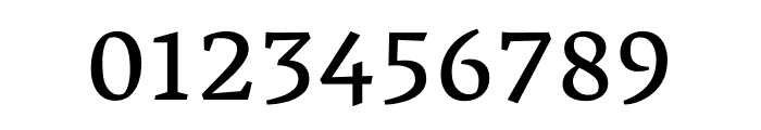 Vesper Libre regular Font OTHER CHARS