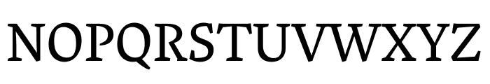 Vesper Libre regular Font UPPERCASE