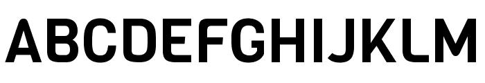 Viga regular Font UPPERCASE