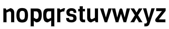 Viga regular Font LOWERCASE