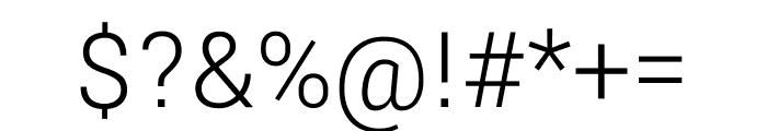 Yantramanav 300 Font OTHER CHARS