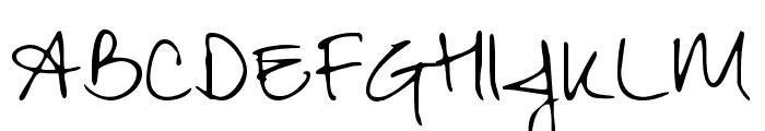 Zeyada regular Font UPPERCASE