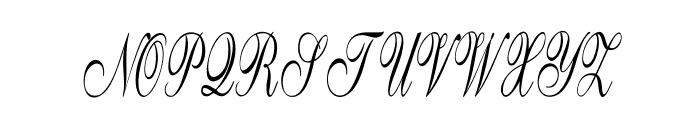 GoldenGate-ExtracondensedItalic Font UPPERCASE