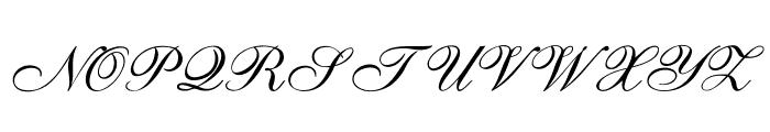 GoldenGate-Italic Font UPPERCASE
