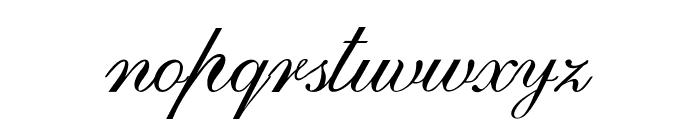 GoldenGate-Italic Font LOWERCASE