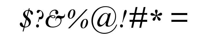 GoudyModernMTStd-Italic Font OTHER CHARS