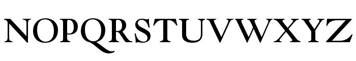 GoudyModernMTStd Font UPPERCASE