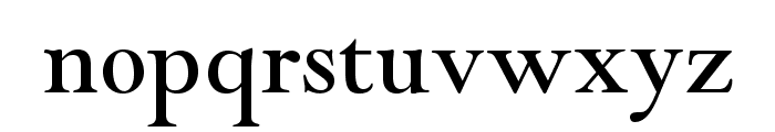 GoudyModernMTStd Font LOWERCASE