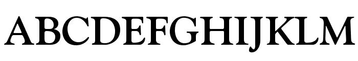 GoudyStd-Bold Font UPPERCASE