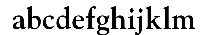 GoudyStd-Bold Font LOWERCASE