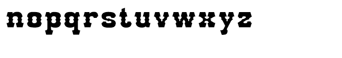 Go West Open Fill Font LOWERCASE