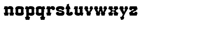 Go West Regular Font LOWERCASE