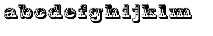Gold Rush Ornate Font LOWERCASE