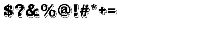 Gold Rush Regular Font OTHER CHARS