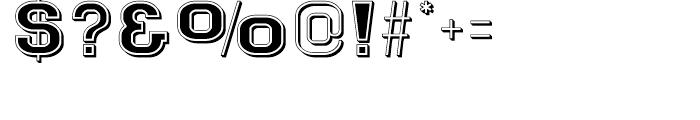 Goldbarre No 2 Regular Font OTHER CHARS