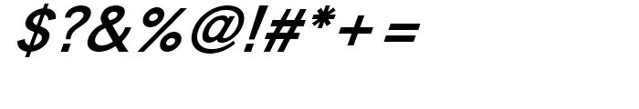 Golden Days Bold Oblique Font OTHER CHARS