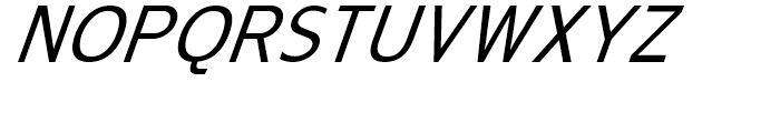 Golden Days Oblique Font UPPERCASE