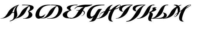 Golden Love Regular Font UPPERCASE