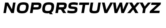 Gomme Sans Bold Italic Font UPPERCASE