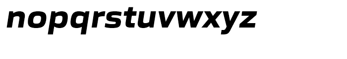 Gomme Sans Bold Italic Font LOWERCASE
