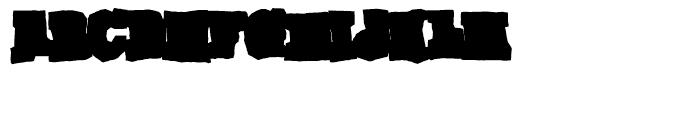 Gomoku Bold Font LOWERCASE