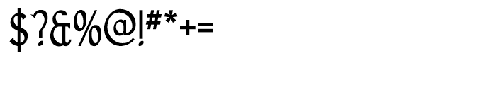 Goodfish Regular Font OTHER CHARS
