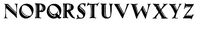 Gothicus Roman Font UPPERCASE