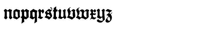 Gothicus Roman Font LOWERCASE