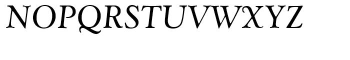 Goudy Catalogue Regular Italic Font UPPERCASE