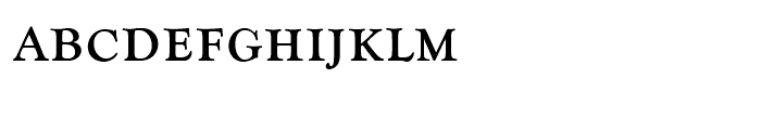 Goudy Catalogue Small Caps Regular Font LOWERCASE