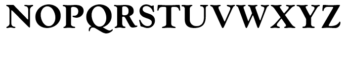 Goudy Extra Bold Font UPPERCASE